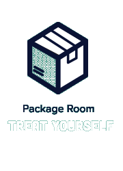 Package Room Treat Yourself